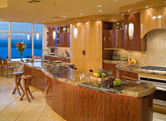 Portfolio kitchens san diego interior design award for Award winning kitchen island designs