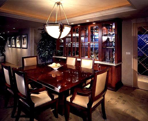 dining-room-wine-storage & PORTFOLIO u2013 LIVING/ DINING | San Diego Interior Design